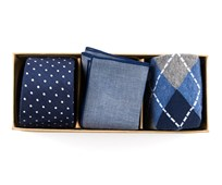 Ties - NOVELTY NAVY GIFT SET - NAVY