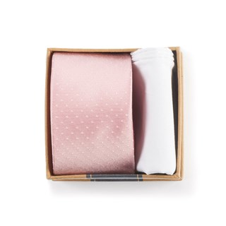 blush pink tie box blush pink gift set