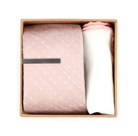 Blush Bhldn Blush Dot Gift Set ties