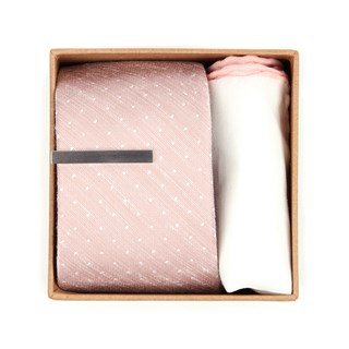 bhldn blush dot gift set blush gift set