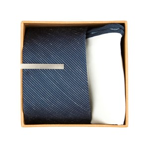 bhldn navy solid gift set navy gift set