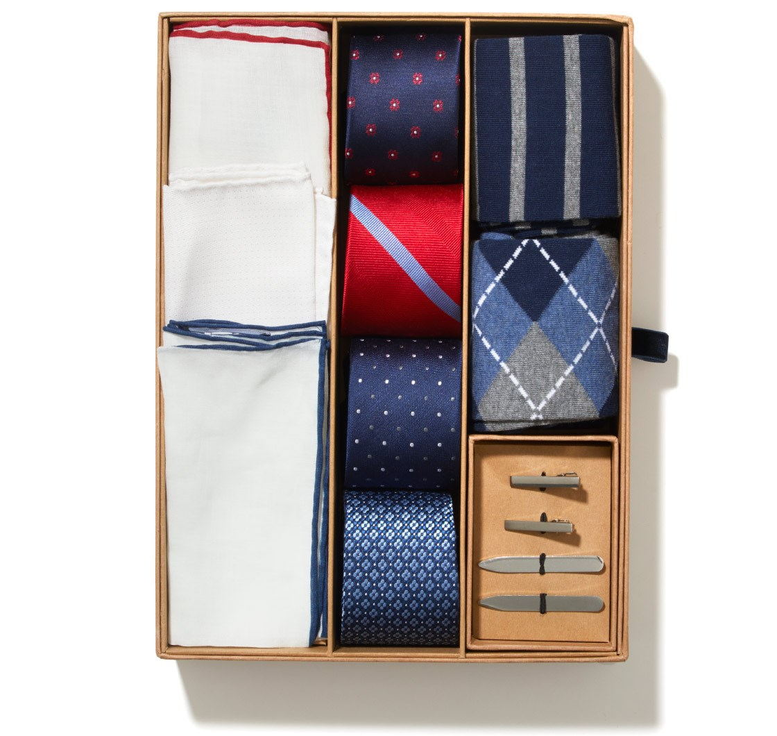 Men's Tie Gift Boxes & Accessory Gift Sets | Tie Bar