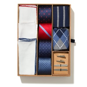 the essentials box navy gift set