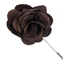Similar Item - Chocolate Astute Solid Lapel Flower Pin