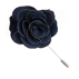 Similar Item - Navy Astute Solid Lapel Flower Pin