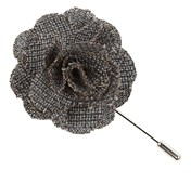 Lapel Flowers - Business Solid - Grey