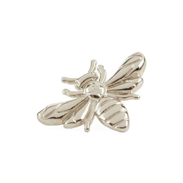 Bee Silver Lapel Pin