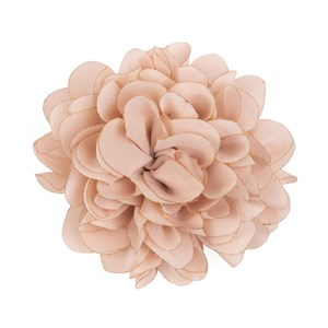 solid silk xl blush pink lapel flower pin