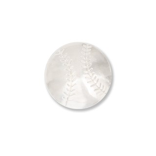 Baseball Silver Lapel Pin