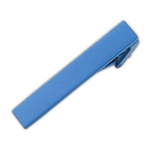 matte color mystic blue tie bar