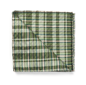 Green Longboard Plaid by Dwyane Wade pocket square