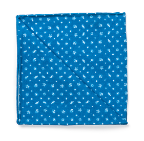 Royal Blue Endless Summer by Dwyane Wade pocket square
