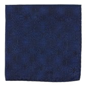 Pocket Squares - Blue Christmas - Royal Blue