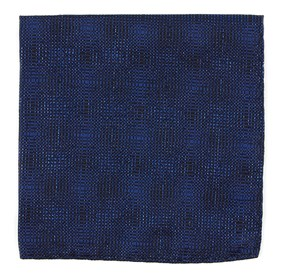 Royal Blue Blue Christmas by Dwyane Wade pocket square
