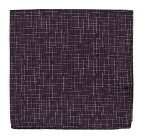 Eggplant Holiday Maze by Dwyane Wade pocket square