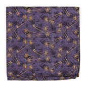 Pocket Squares - Palm Springs - Purple