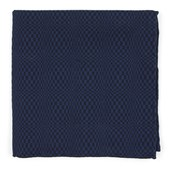 Pocket Squares - Check List - Deep Serene Blue