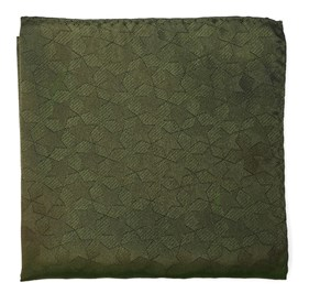 ARMY GREEN NORTH STARS BY DWYANE WADE pocket square