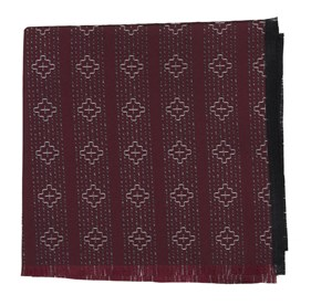 Native Thread by Dwyane Wade Burgundy pocket square