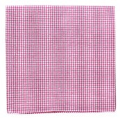 Pocket Squares - NEW SEERSUCKER GINGHAM - PINK