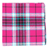 Similar Item - Fuchsia Vice Plaid Pocket Square