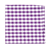 Select Purple Classic Gingham Pocket Square
