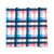 Select Pink Acoustic Check Pocket Square