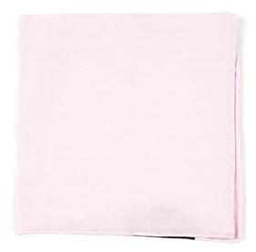 Blush Pink Solid Flex pocket square