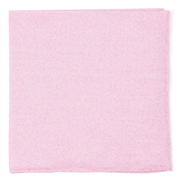 Baby Pink Cotton Tango Pocket Square