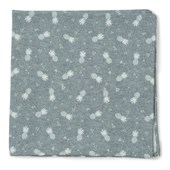 Pocket Squares - Pineapple Toss - Grey