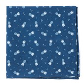 Pocket Squares - Pineapple Toss - Navy