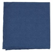 POCKET SQUARES - SOLID PATROL - NAVY