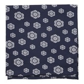 Pocket Squares - Kerchief - Navy