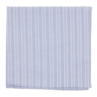 north bay stripe blue pocket square