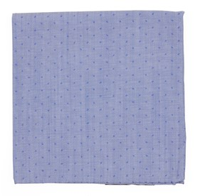 Blue Point Breeze Geo pocket square