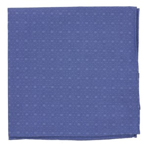 district medallion classic blue pocket square