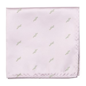 mumu weddings - cactus blush pink pocket square