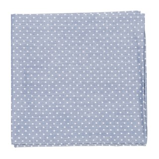 Summer Stars Navy Pocket Square