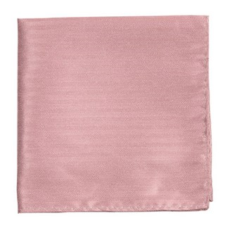 Mumu Weddings - Desert Solid Antique Rose Pocket Square