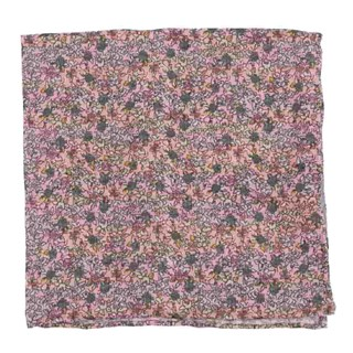 Wild Rosa Peach Pocket Square