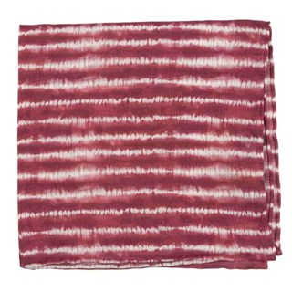 Day Dreamer Stripe Burgundy Pocket Square