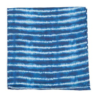 Day Dreamer Stripe Navy Pocket Square