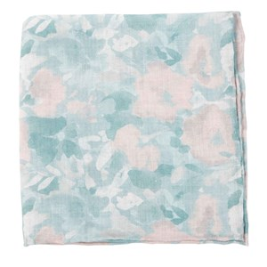 mumu weddings - sage i do sage pocket square