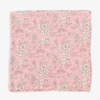 Liberty Capel Baby Pink Pocket Square