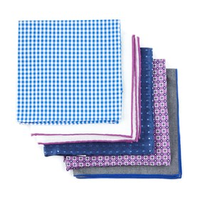 Purple Trendy Purple Pack pocket square