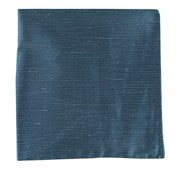 POCKET SQUARES - FOUNTAIN SOLID - NAVY