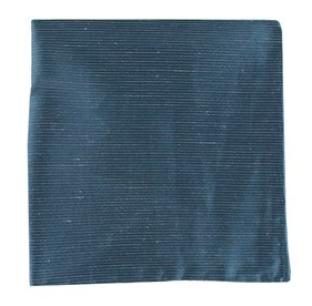 Navy Fountain Solid pocket square
