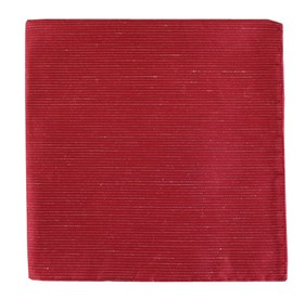 Red Fountain Solid pocket square