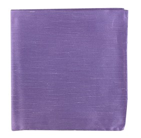 Fountain Solid Wisteria pocket square