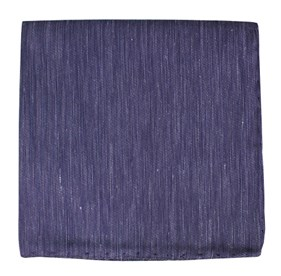 Deep Purple Sand Wash Solid pocket square